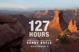 Cartel del estreno 127 Horas